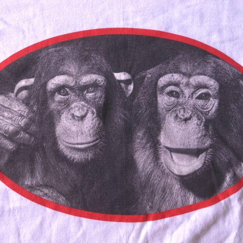 90's USA製 YLLA イーラ/チンパンジーTシャツ