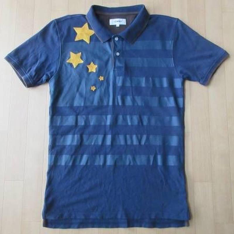 TOMMY 星条旗 半袖 ポロシャツ M HILFIGER トミー シャツ USA トミーヒルフィガー【deg】
