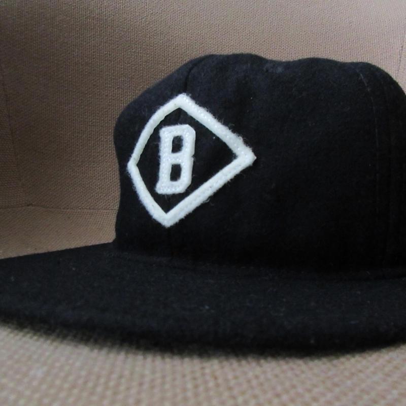 USA製 エベッツフィールドフランネルズ Bismarck Churchills 1935 B ウール ベースボール キャップM