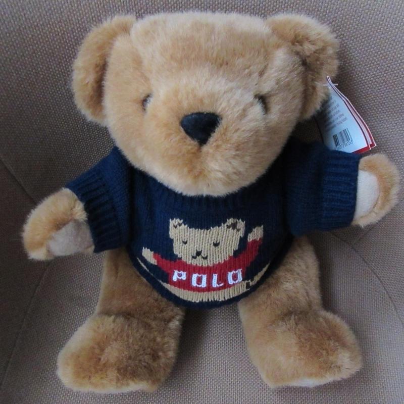 90's ラルフローレン 1997年 ポロベアー 熊 POLO ニット ぬいぐるみ ポロ ベア BEAR セーター 人形 RALPH LAUREN 小物