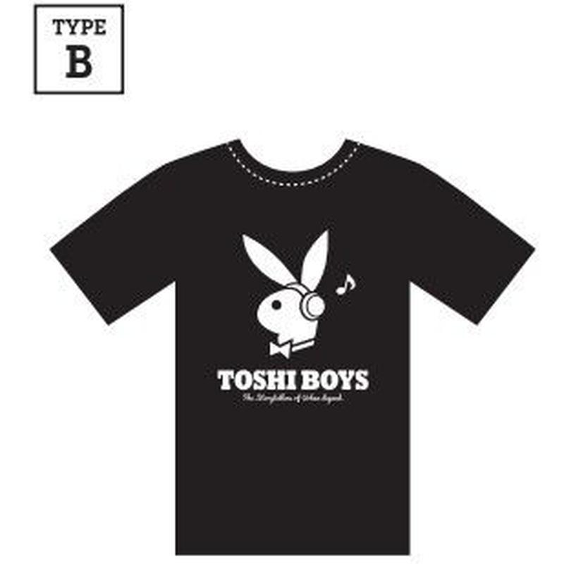 都市ボーイズ TシャツB(ウサギ)