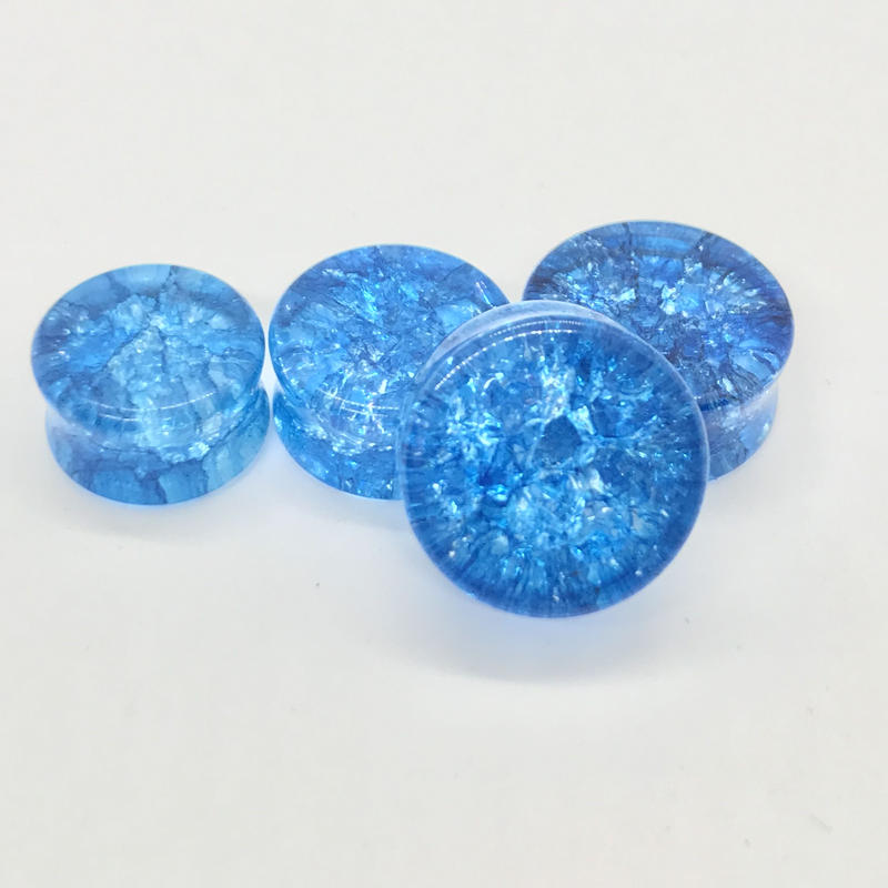 天然石プラグ  ブルー