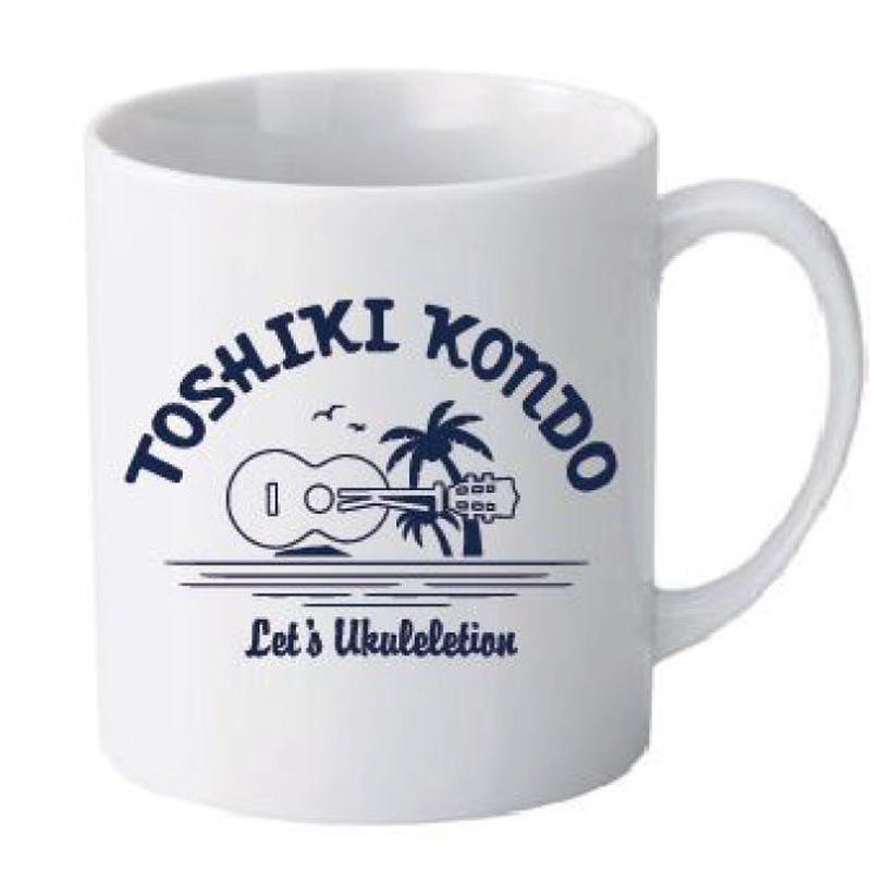 Let's Ukuleletion マグカップ