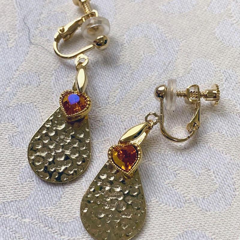 トキメキハートのイヤリング