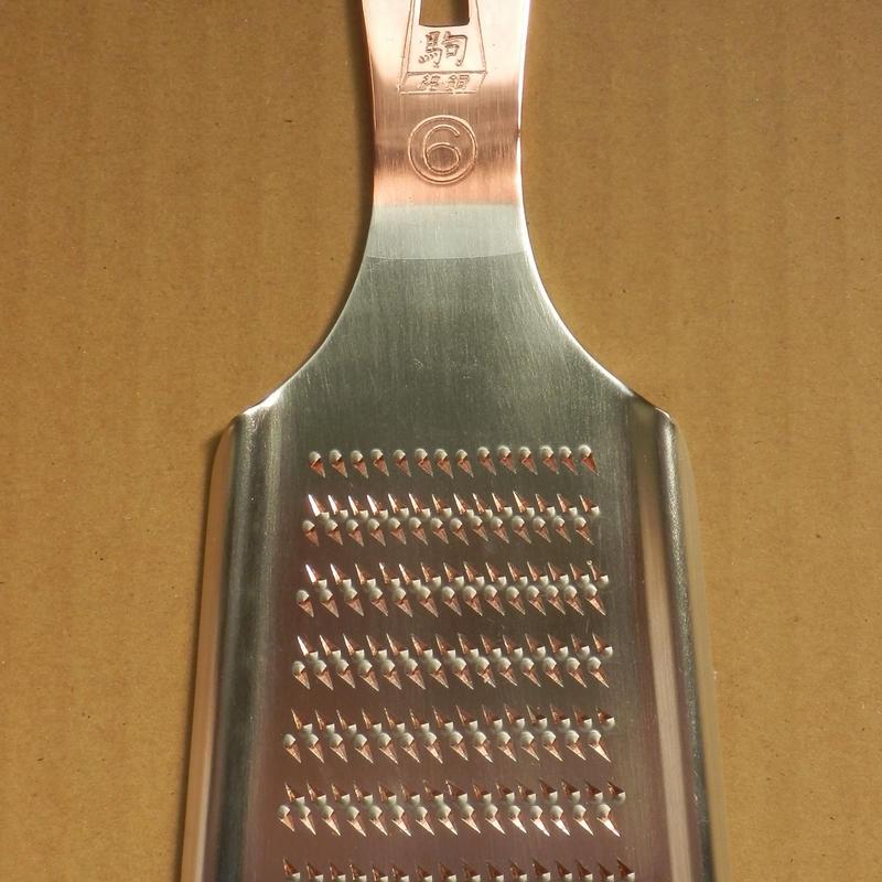 純銅製おろし金 6号 手造り 新潟県燕市製