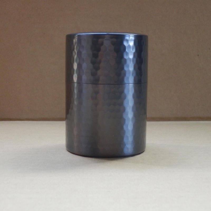 銅製 茶筒 小 ブロンズ仕上 新潟県燕市製