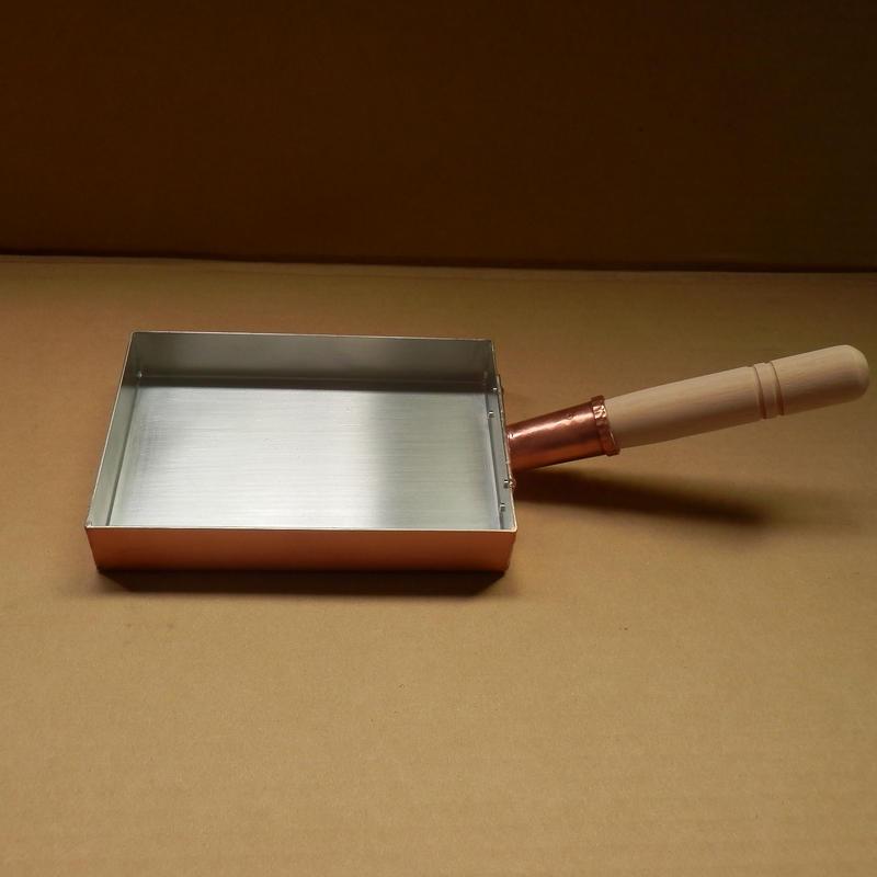 銅製玉子焼 小 手造り 新潟県燕市製