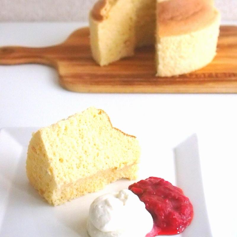 【低糖質】ふわふわバニラシフォン【レシピ】