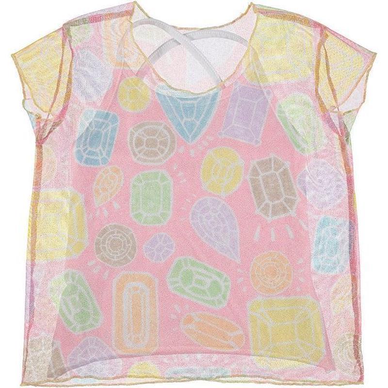 ドロップスプリントシースルーTシャツ SUCRE C103