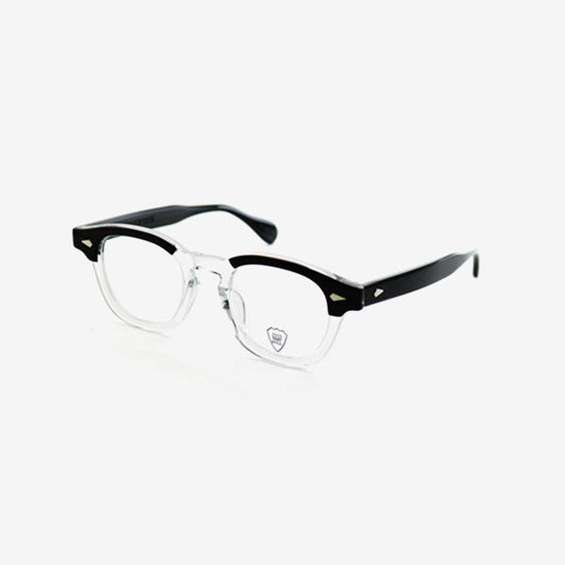 <JULIUS TART OPTICAL>  AR 44 [Black Wood / Clear]