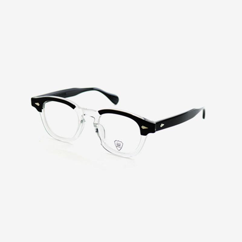 <JULIUS TART OPTICAL>  AR 44 [Black Wood / Clear]
