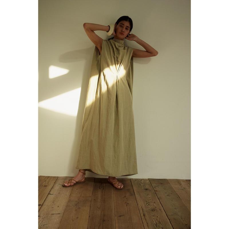 """【""""little $uzie"""" Original #4】Back V-Neck Mantle Dress(ls109D)"""