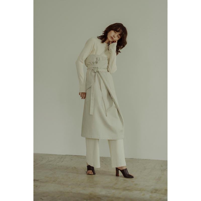 "【""little $uzie"" Original #3】One Shoulder Strap Sarong Skirt (ls060)"