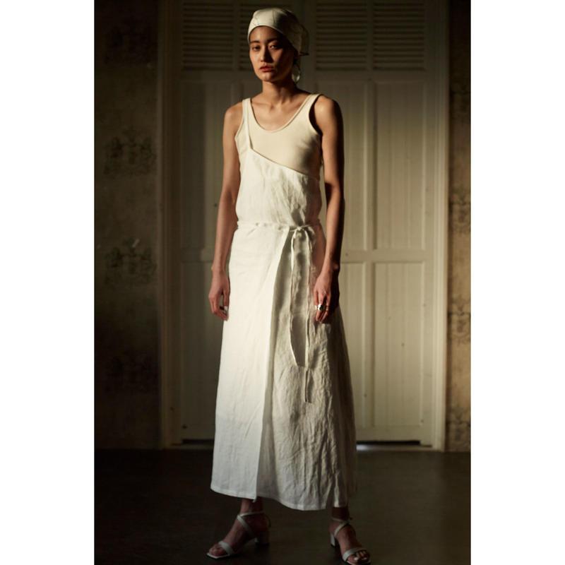 "【""little $uzie"" Original #4】One Shoulder Sarong Wrap Skirt(ls092S)"