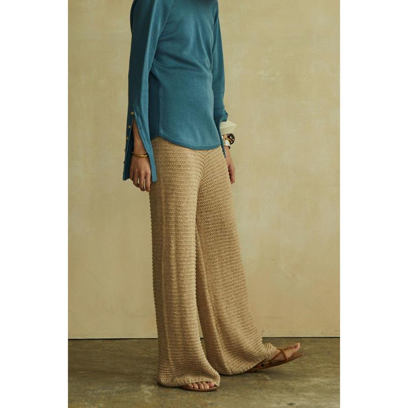 """【""""little $uzie"""" Original #4】Crochet Knit Pants(ls086-2)"""