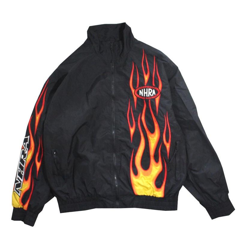 【USED】SPORT SERVIS FIRE NYLON JACKET