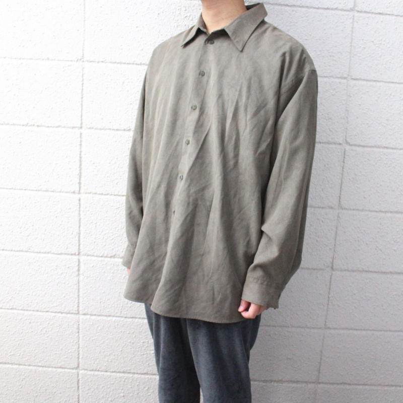 【USED】REACTION SOFT SUEDE SHIRTS