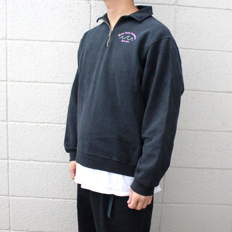 【USED】JARZZES SWIMMING HARF ZIP SWEAT