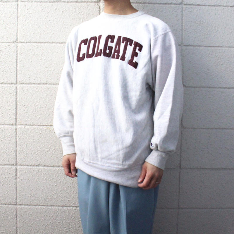 【USED】CHAMPION MADE IN USA REVERSE WEAVE SWEAT