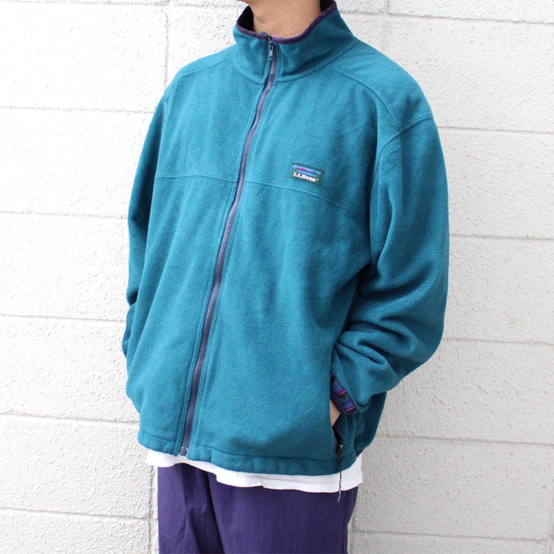 【USED】LL BEAN POLARTEC FLEECE JACKET