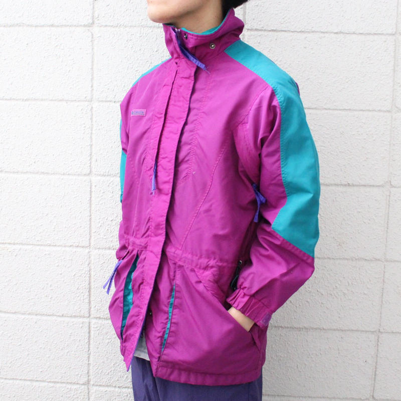 【USED】COLOMBIA DOUBLE WHAMMY NYLON JACKET