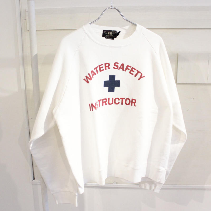 【USED】RRL 90s WATER SAFETY SWEAT