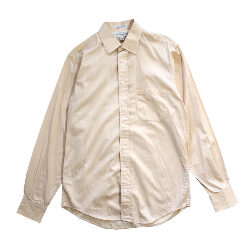 【USED】BURBERRYS MADE IN USA COTTON SHIRTS