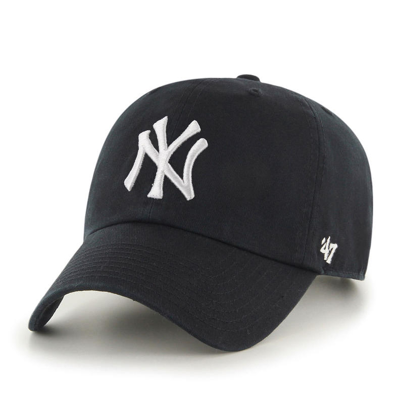 【NEW】47 Brand Yankees '47 CLEAN UP Black