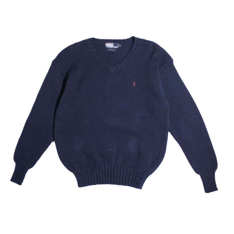 【USED】POLO RALPH LAUREN COTTON SWEATER