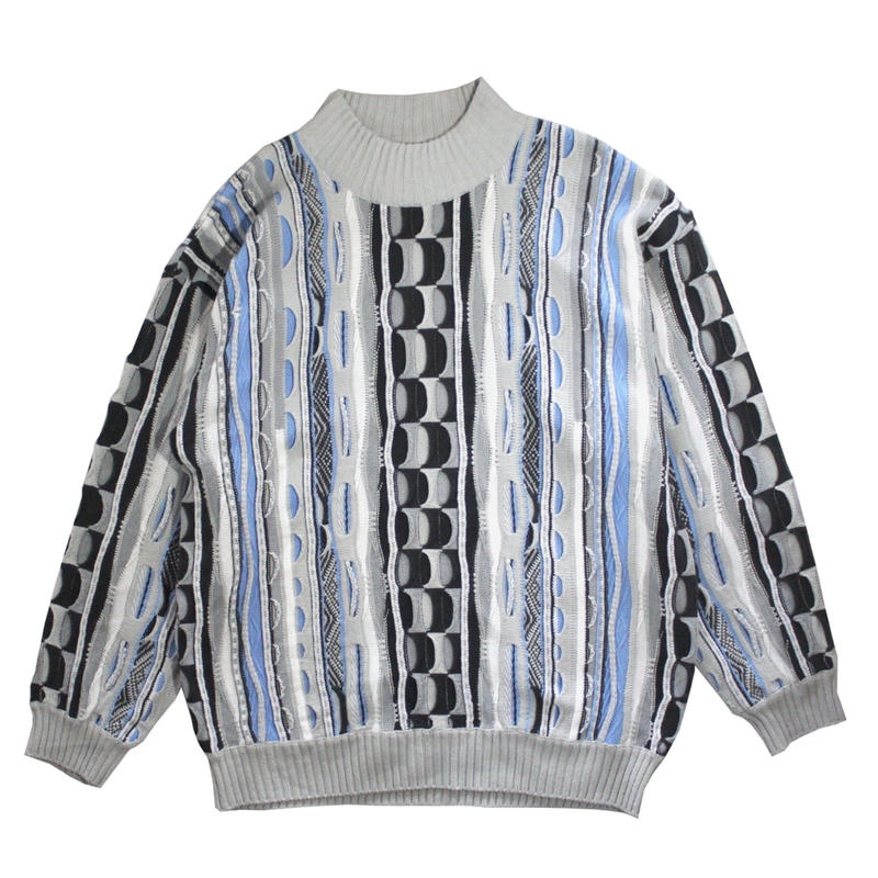 【USED】CROSSTOWN 3D SWEATER