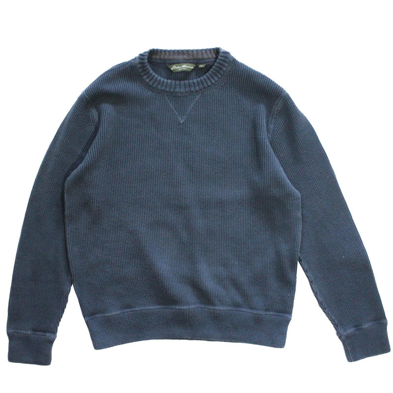 【USED】EDDIE BAUER COTTON  SWEATER