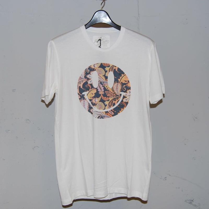【EYEAM】x【PAZZO】バンブーコットンスマイルTシャツ