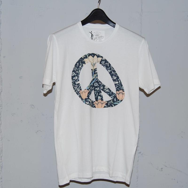 【EYEAM】x【PAZZO】バンブーコットンピースマークTシャツ