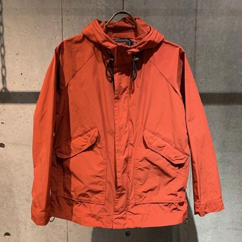 【PAZZO】BJ高密度平織クロス マウンテンパーカー オレンジ