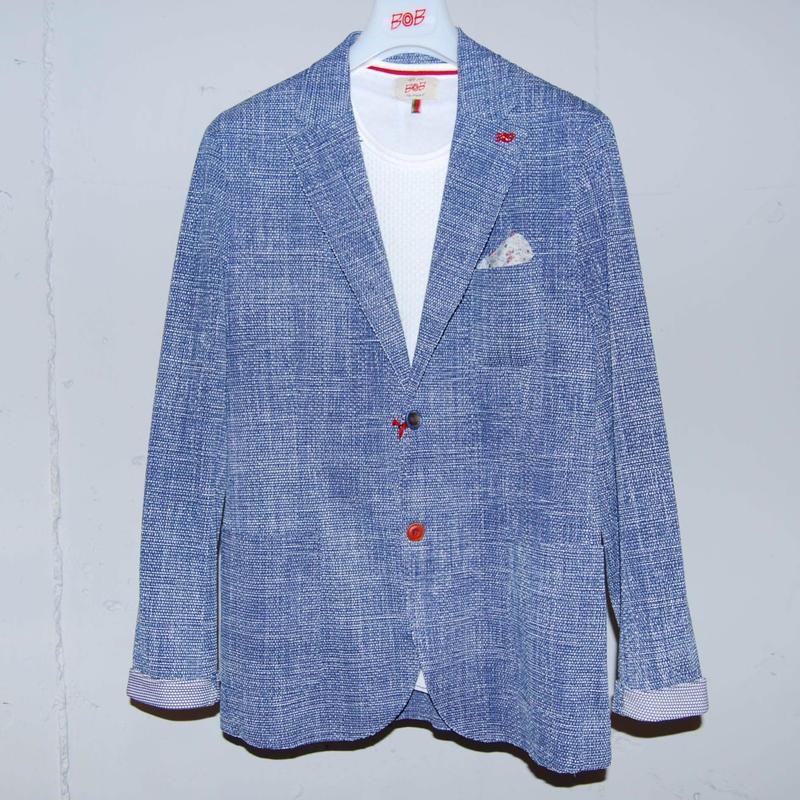 【BOB】シングルジャケット ブルー