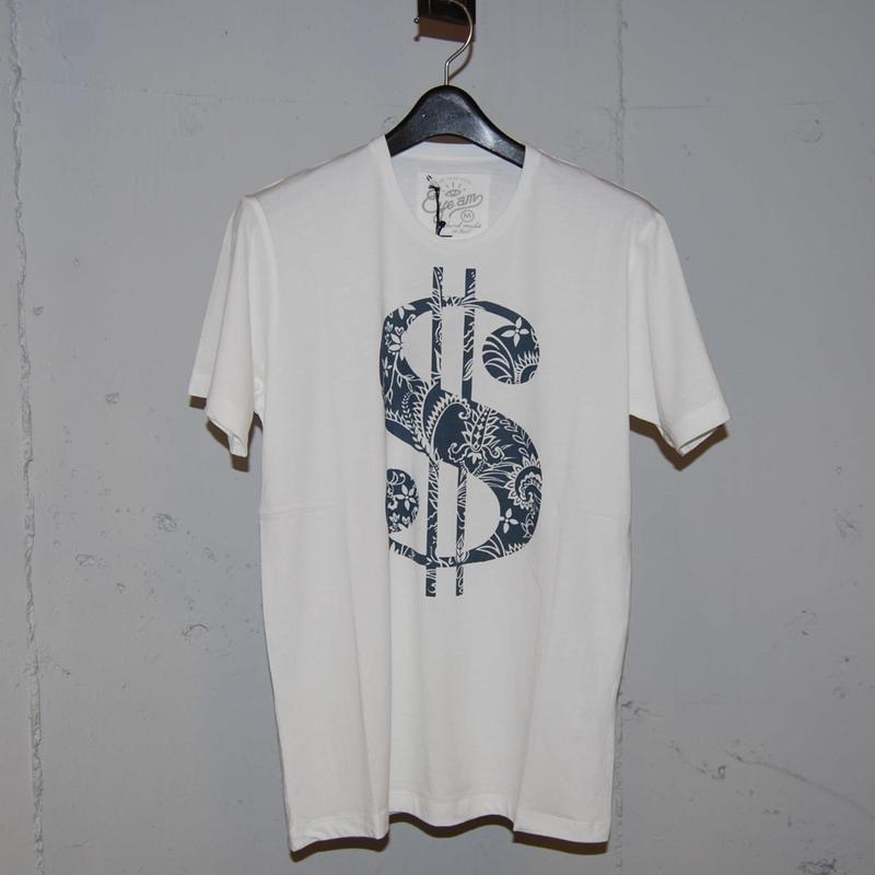 【EYEAM】x【PAZZO】バンブーコットン$Tシャツ