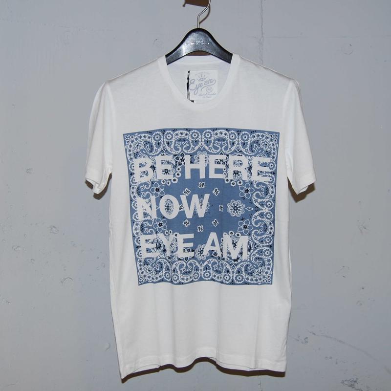 【EYEAM】x【PAZZO】バンブーコットンプリントTシャツ