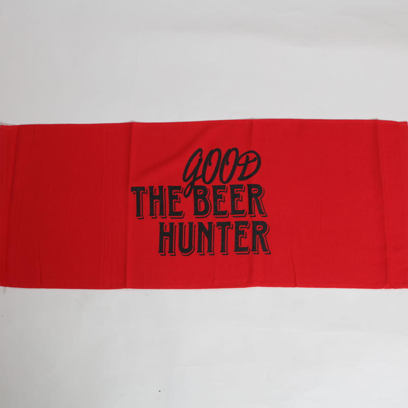 GOOD BEER HUNTER TOWL-RED