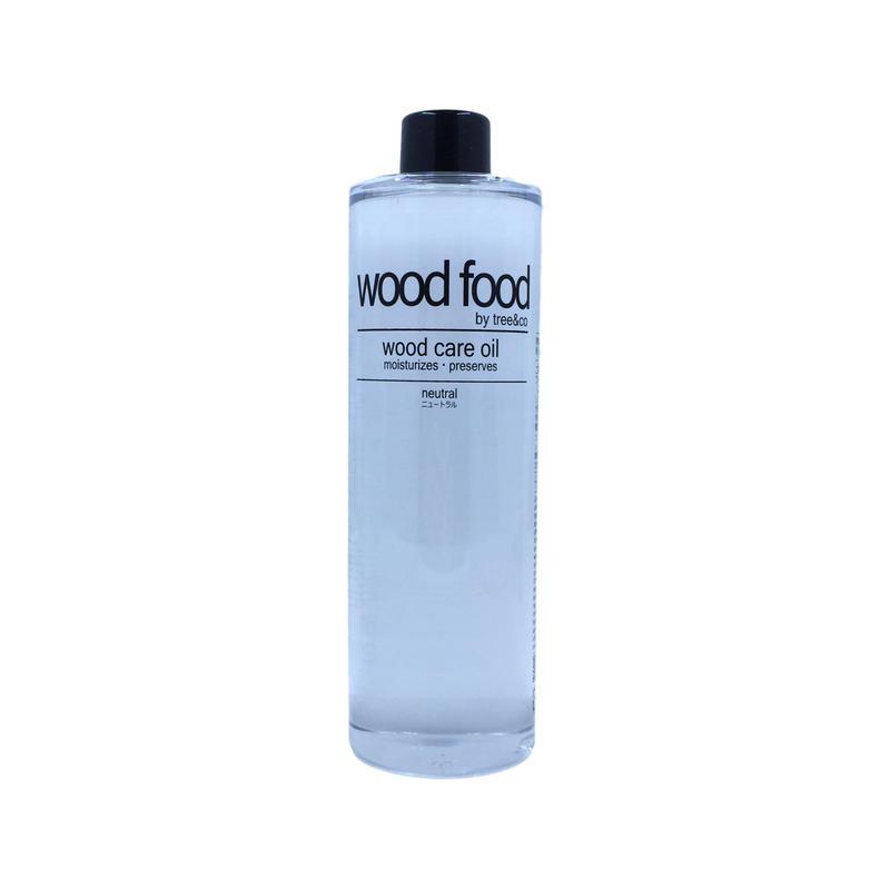 wood food オイル -  ニュートラル 400ml