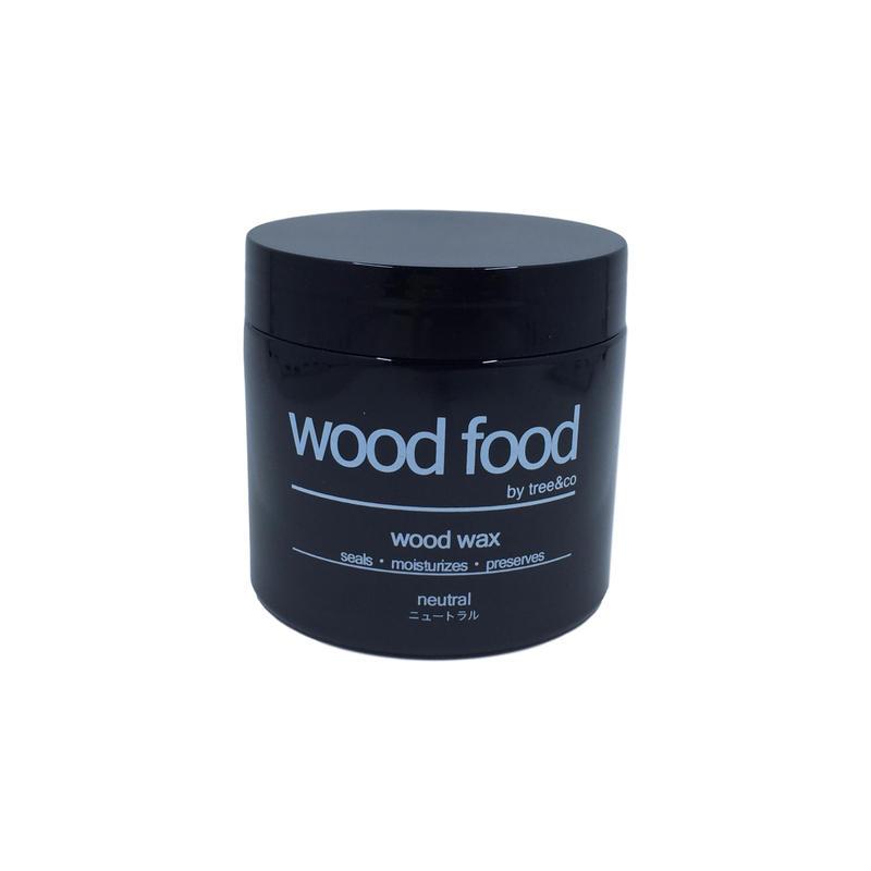 天然艶出し蜜蝋ワックス『wood food』ーニュートラル