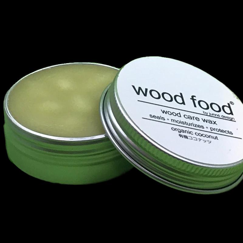 天然艶出し蜜蝋ワックスミニ 『wood food』-ココナッツ