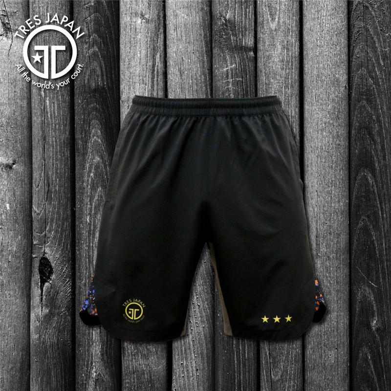 【TMC】WOVEN SHORTS Splash(black-multi)