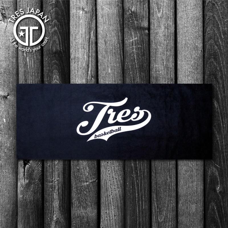 【TRESJAPAN】Micro-Fiber towel(Black)