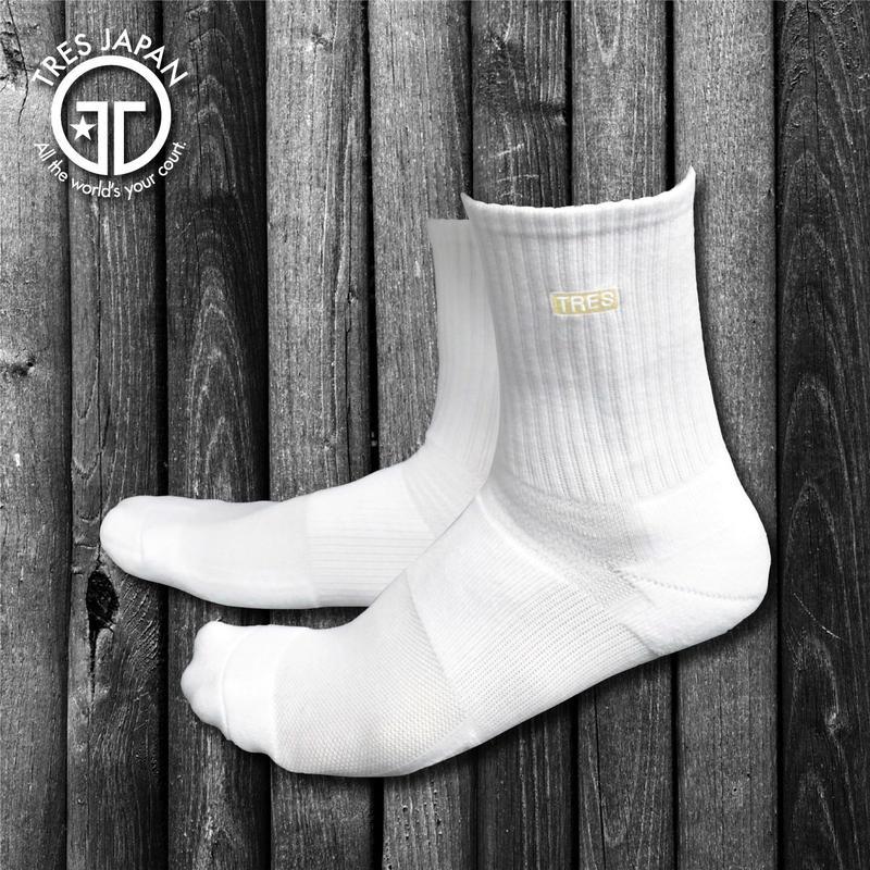 【TMC】BASKET SOCKS  1POINT(Cream)