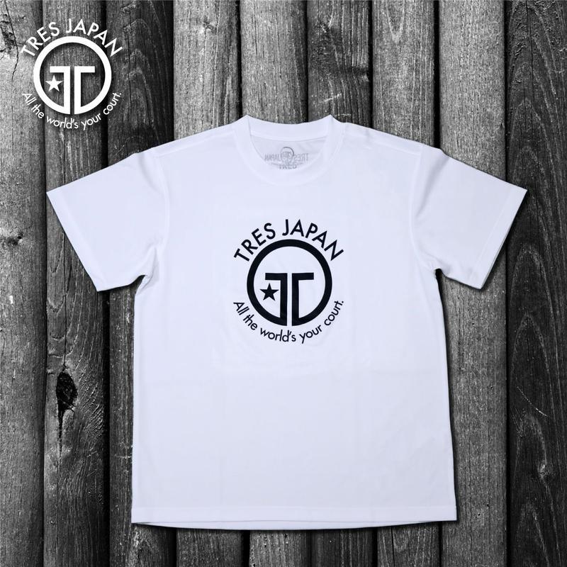 【TRESJAPAN】イージードライHeiQ Tシャツ(ホワイト)