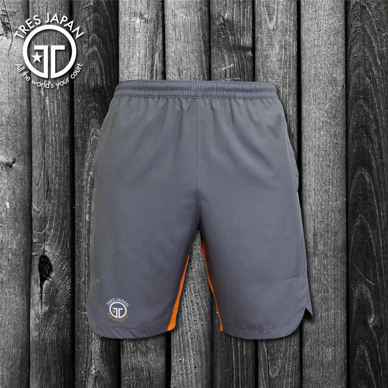 【TMC】SOLID WOVEN SHORTS(Charcoal/Orange)