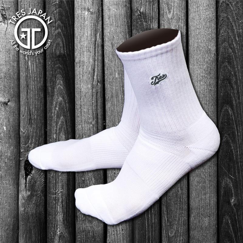 【TMC】BASKET SOCKS  Surf Logo(White/Black)