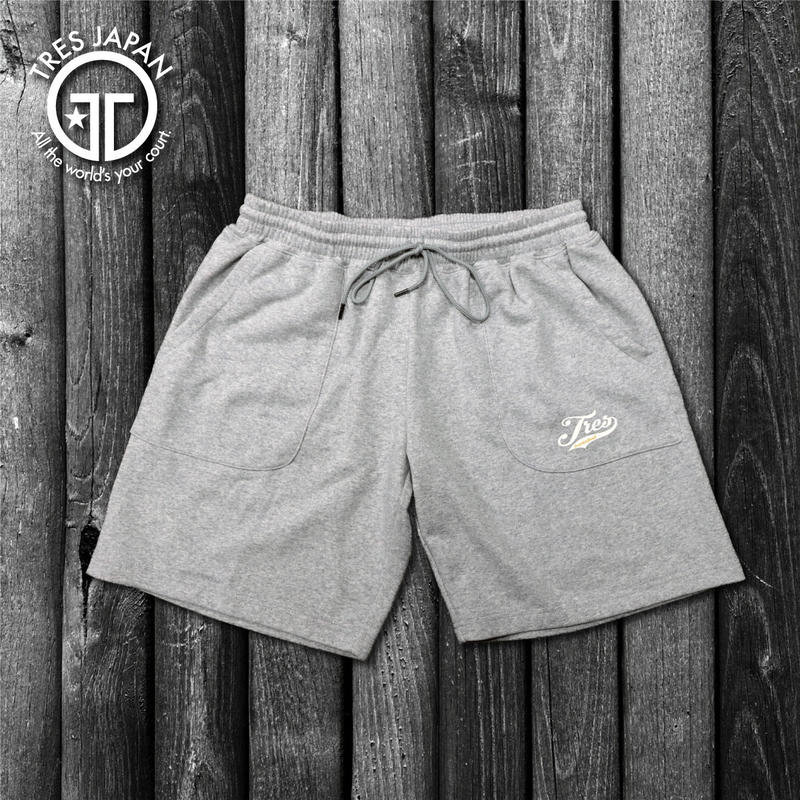 【TMC】SWEAT LOGO SHORTS(Gray)