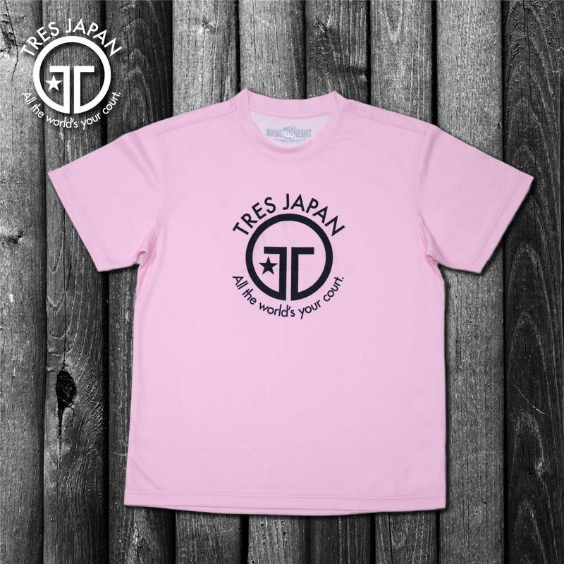【TRESJAPAN】イージードライHeiQ Tシャツ(ピンク)