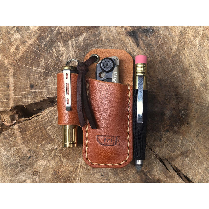 Leather EDC Pocket Organizer S